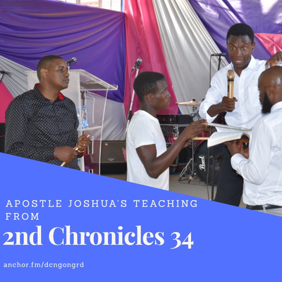 Teaching from 2nd Chronicles 34