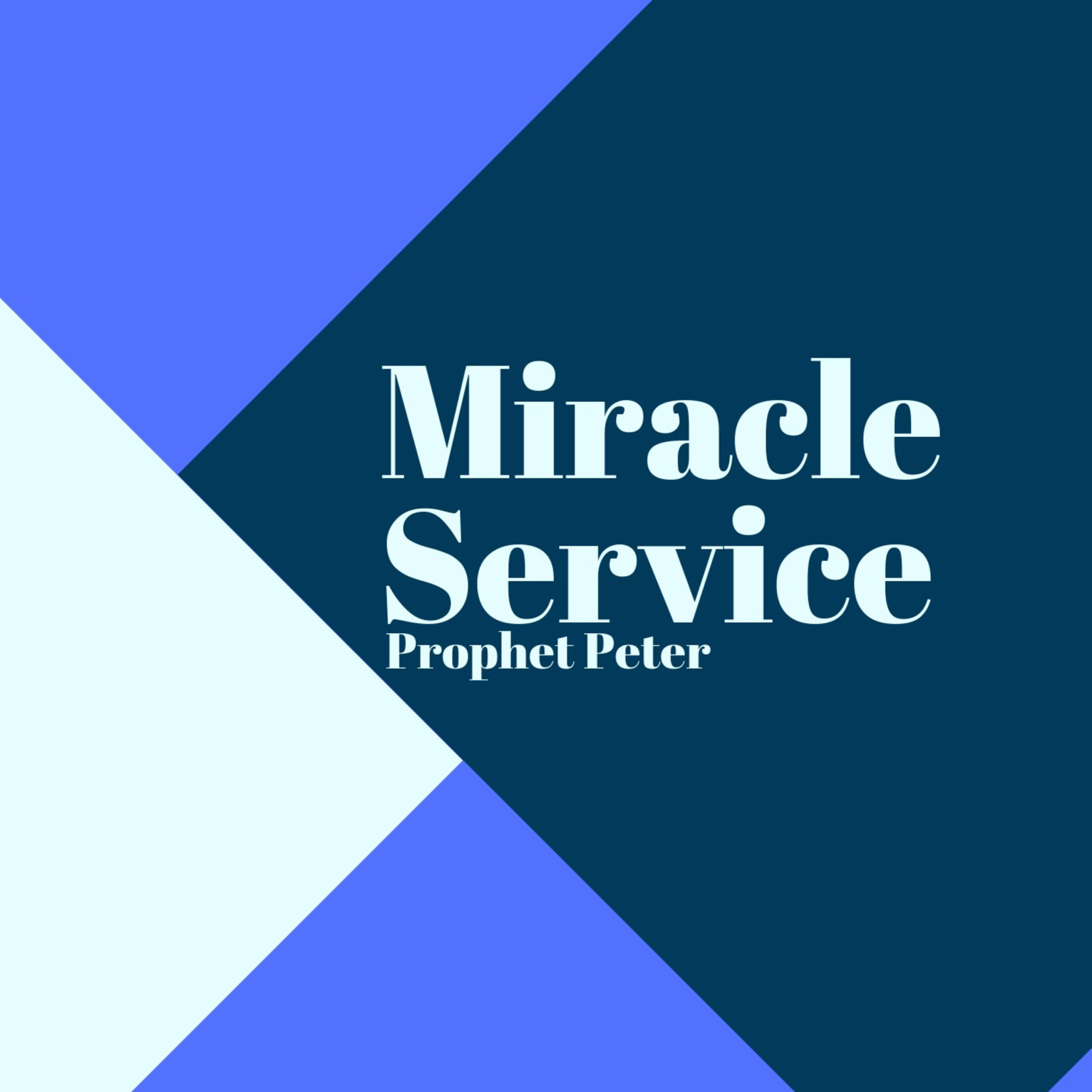 Miracle Service on 31/3/2019
