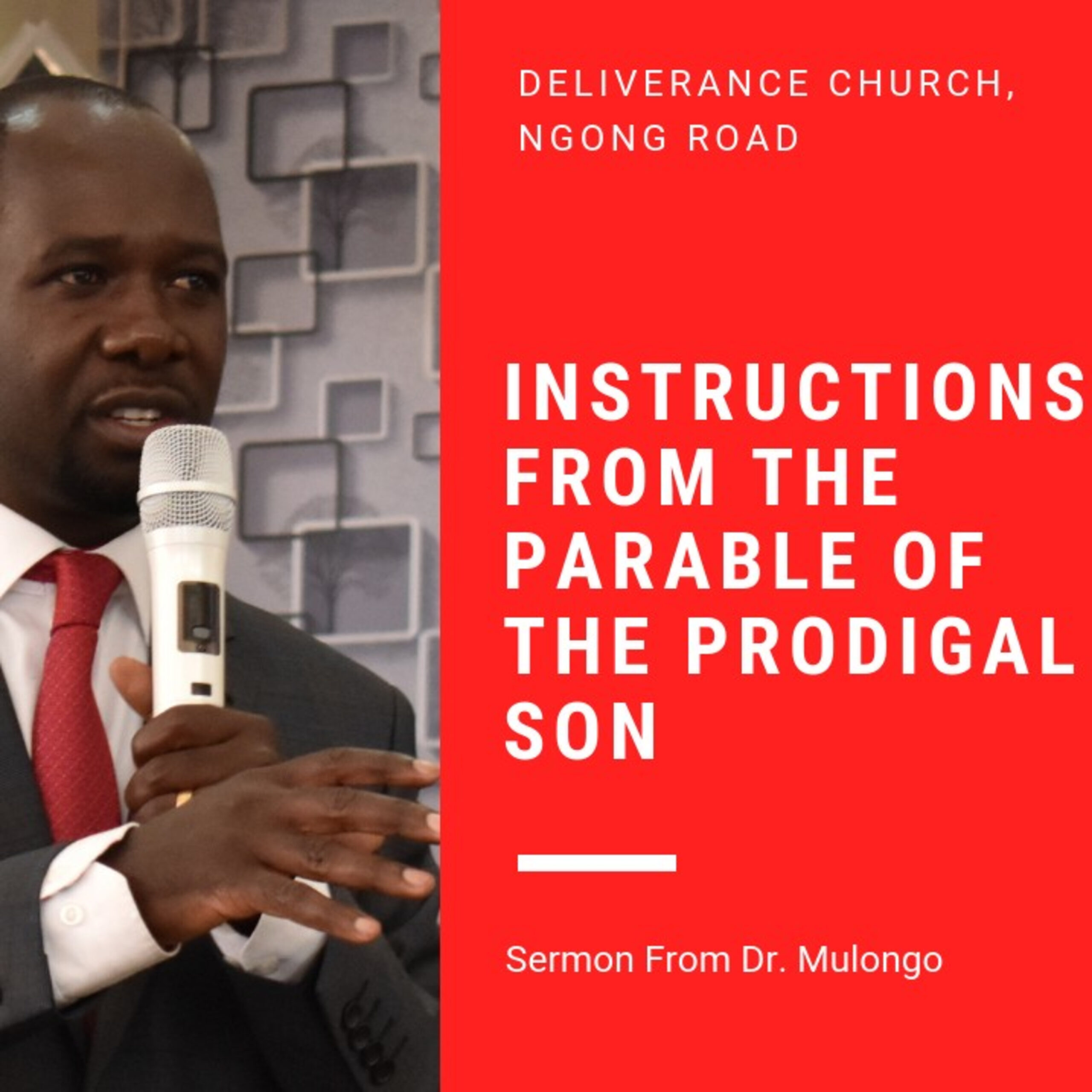 Instructions from the Parable of the Prodigal Son
