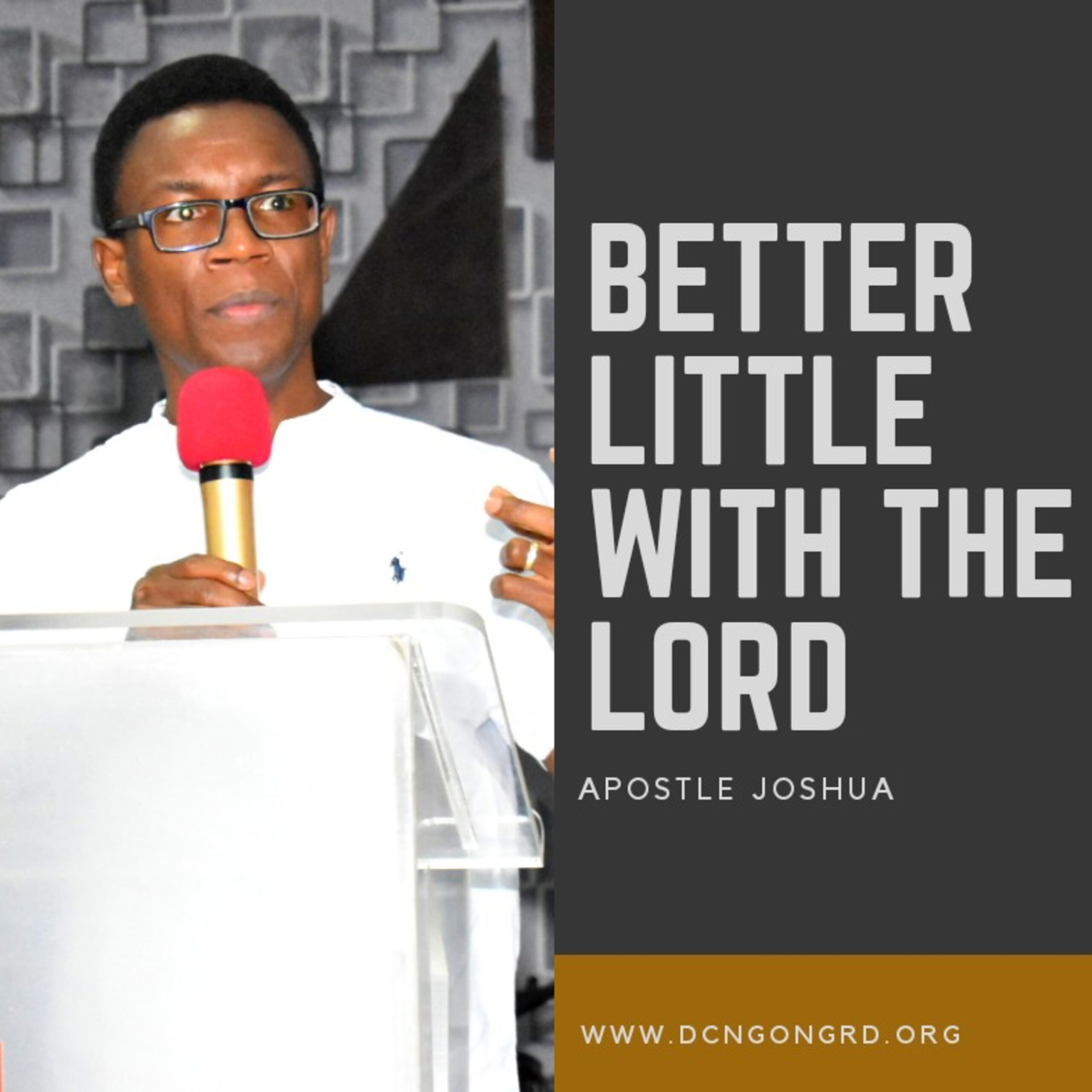 Better Little with the Lord
